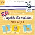 Karty obrazkowe - Angielski dla malucha. Zwierzęta