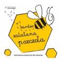 Robaczki. Bardzo zalatana pszczoła